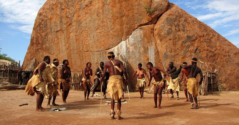 Traditional dances of the Damara