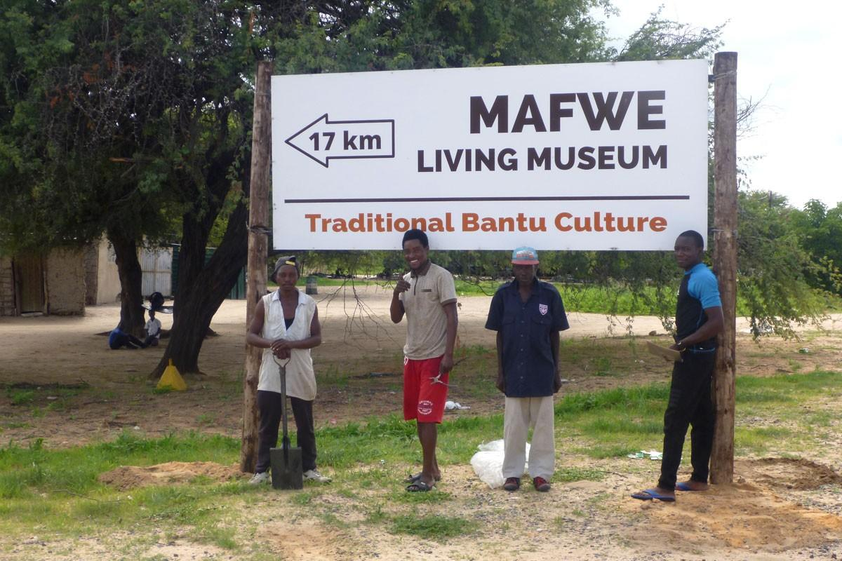 New Signboards for the Mbunza and Mafwe Museum