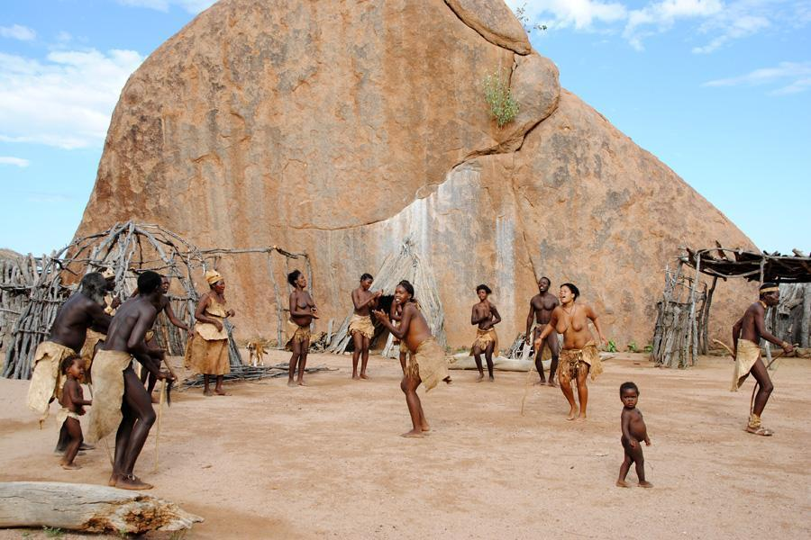 Dancing of the Damara