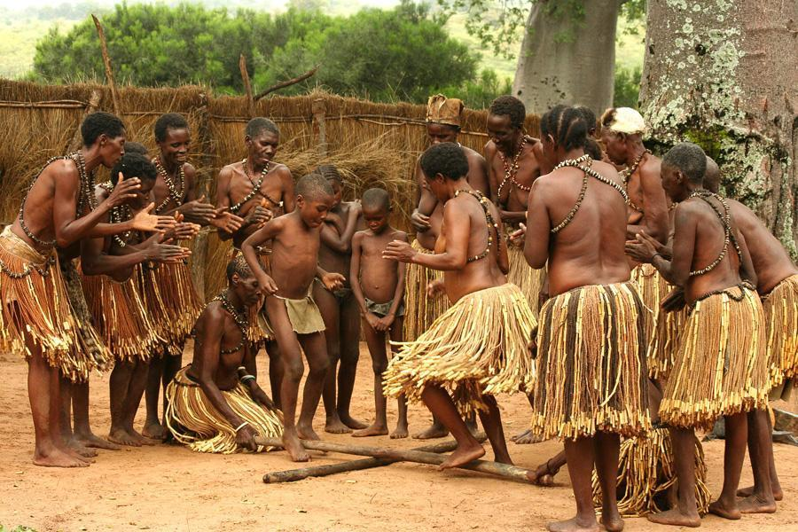 Dancing of the Mafwe