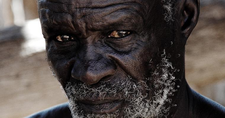 Old man from the Damara Museum