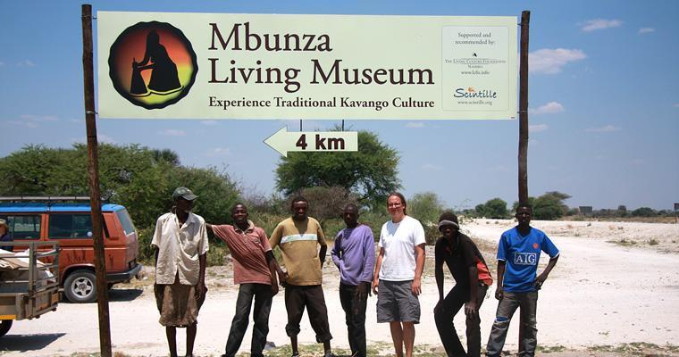 Errection of a signboard for the Mbunza Living Museum