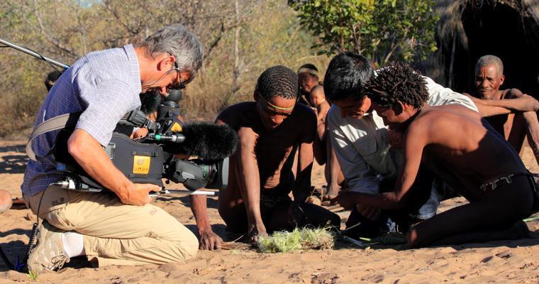 Film team support in Namibia