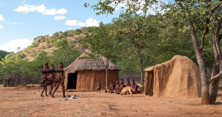 Ovahimba homestead